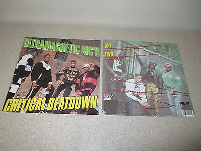 "ULTRAMAGNETIC MC'S Critical Beatdown 1988 PROMO ONLY 12.5"" Poster RARE Hip-Hop"