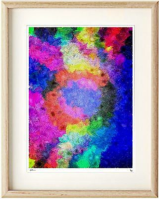 A3 Clipframe Modern Abstract Xmas 2 Epson Print in Ikea print only