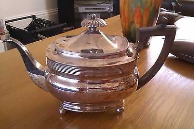 georgian silver teapot BY ALEXANDER FIELD 925 SILVER FULLY HALLMARKED DATE O