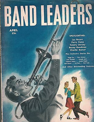 Band Leaders Magazine April 1946 Perry Como Benny Goodman Tommy Dorsey