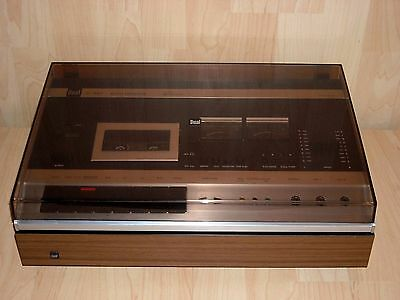 Dual C 901 Auto Reverse Cassette Deck * Beautiful Vintage Collector's Item *