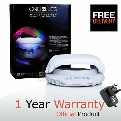 CND SHELLAC LED LAMP - 3C Technology - UK PLUG- UK SELLER - CHEAPEST GENUINE