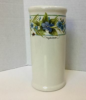 Hallmark Marjolein Bastin Vase Natures Sketchbook Collection Floral Design 8""