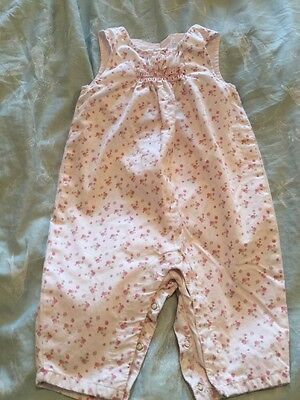 White Company Baby Girls Dungarees 3-6 Months