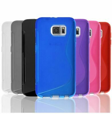 Slim Gel Case Tough TPU Hybrid Cover for Samsung Galaxy S5 S6 Edge S7 S8 Plus