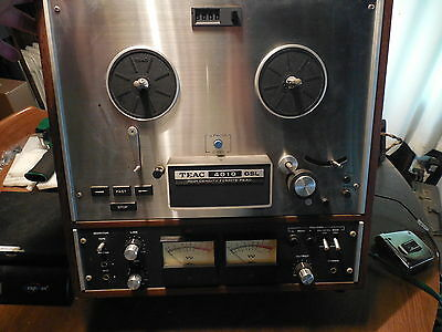 VINTAGE TEAC 4010GSL Reel to Reel  Tape Recorder Player untested