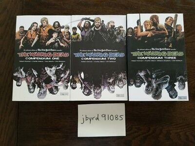 The Walking Dead Compendium 1, 2, and 3 Complete Set (Issues 1-144)