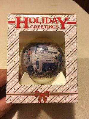 1996 Ford New Holland Christmas Ornament NOS