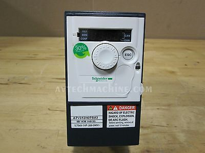 Schneider Inverter Altivar 312 1HP 0.75KW 200V-240V 3 Phase ATV312H075M3