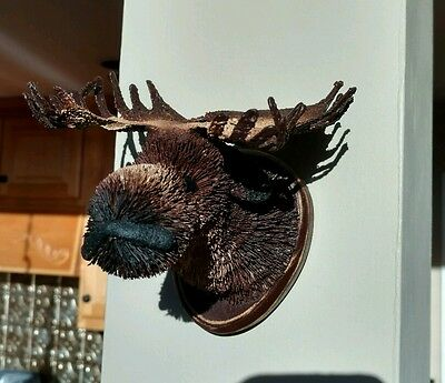 New moose head wall mount or ornament