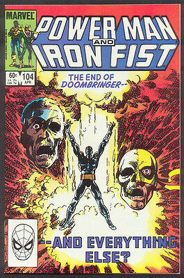 POWER MAN/IRON FIST 104 106 107 110 112 113 114 115  VF to NM-   (Byrne Covers!)