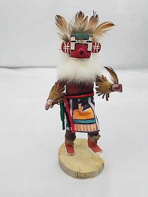 Snow Dancer Kachina Doll Signed by Largo Native American Hand Carved & Painted
