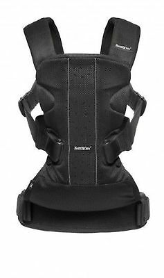 Baby Bjorn Baby One Carrier Air - Black Mesh (BabyBjorn)