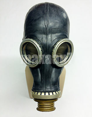 Soviet russian Black rubber gas mask GP-5 size 0 EXTRA SMALL