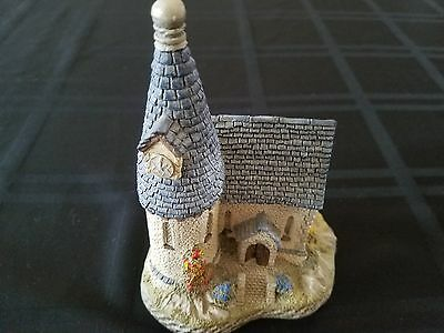 Vintage David Winter The Chapel Figurine 1984 Hand made hand painted