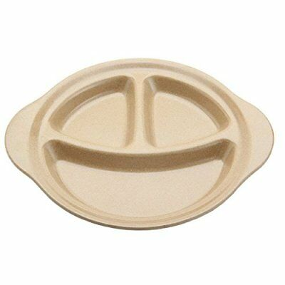 Sectioned Plate By Munch no BPA no Plastic Divided Food For Picky Baby, New