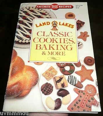 Land o Lakes No. 39 CLASSIC COOKIES BAKING & MORE (1991) check out style