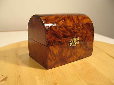 Exotic Wood Box Handmade By Master Artisan From Morocco