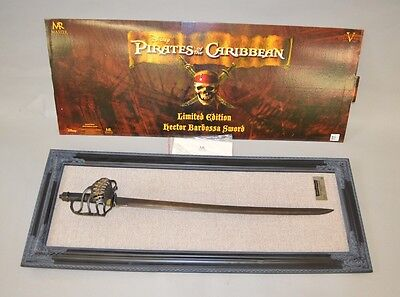 MASTER REPLICAS PIRATE REAL STEEL SWORD LE WITH PLAQUE! STAR WARS EFX star wars