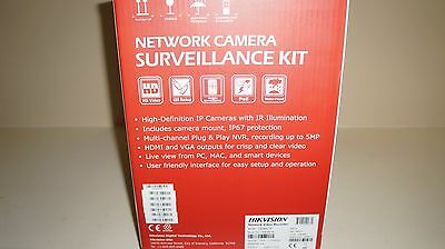 New Hikvision IP Security Dome Cameras Kit 8 Channel NVR DVR 1080p DS I7608N2TA