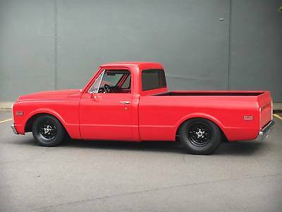 1972 Chevrolet C-10  1972 Pro Street Chevy C10 Short Bed