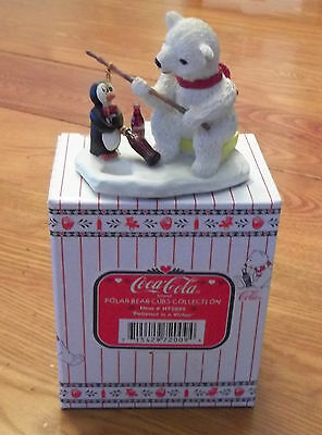 1996 Coca Cola Polar Bear Cubs Collection Patience Is A Virtue Item # H72009