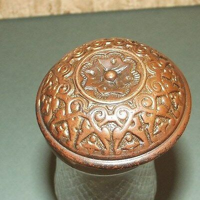 Nice Antique Vintage Brass Door Knob HEAVY & GREAT  Design
