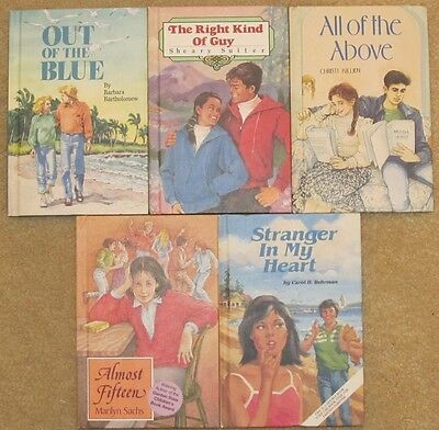 Lot of 5 Hardcover Books in the Especially for Girls/Weekly Reader Books Series