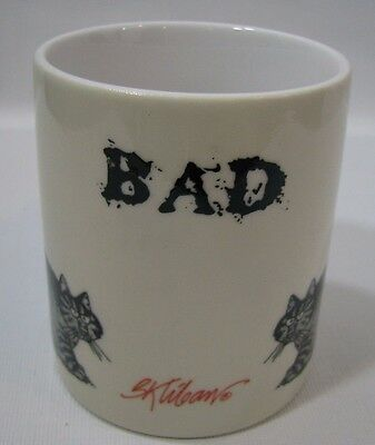 Vintage B. Kliban Bad Cat Coffee Mug Cup HTF Rare
