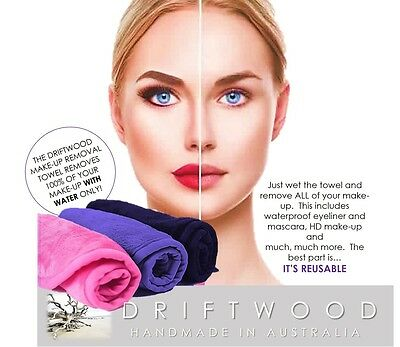 Make-Up Removal Towel - Remove All Traces of Make-Up With Warm Water Only