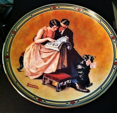 """""""A Couple's Commitment"""" Authentic Registered Collector's Plate Limited Edition"""