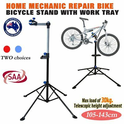 KOBIE Bike Repair Work Stand With Bonus Tool Tray For Home Bicycle Mechanic X WE