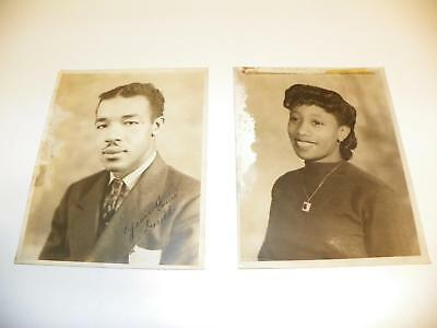 Vtg Black Americana African-American College Student Sepia Photo Photograph Lot