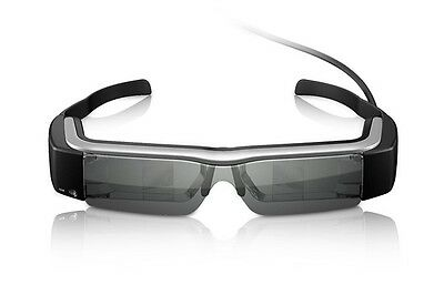Epson Moverio BT-200 Augmented Reality See-Thru Mobile Viewer