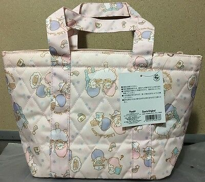2014 NEW Sanrio LITTLE TWIN STARS lunch bag + insulated insert cooking theme!