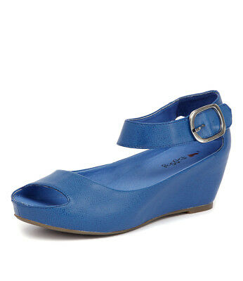 New I Love Billy Tindol Cobalt Womens Shoes Casual Sandals Heeled