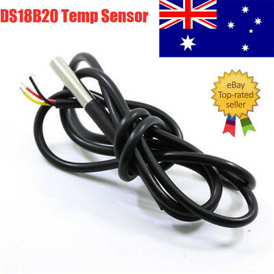 Waterproof DS18B20 Temperature Temp Sensor Digital Thermal Probe 1M AU Stock