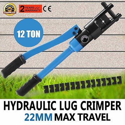 16 Ton Hydraulic Wire Terminal Crimper Crimping Tools Battery Compression Newest