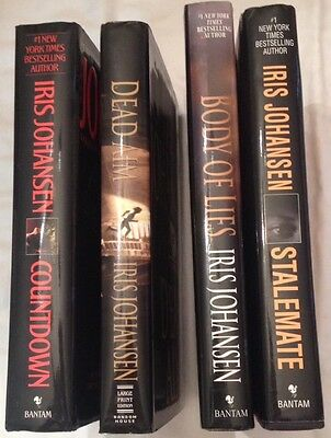 Iris Johansen 4 Book Lot Eve Duncan series hardcover
