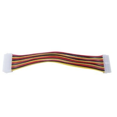 24-Pin ATX Male To Female Connector Motherboard PSU Power Supply Extension Cable