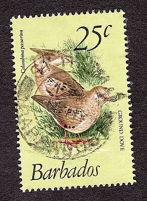 1979 Barbados 25c Scaly breasted ground dove SG629 FINE USED R31079