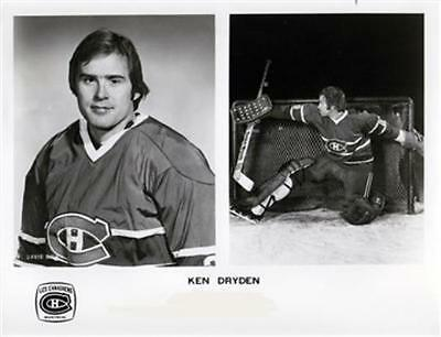Ken Dryden Montreal Canadiens Unsigned Media 8x10 Photo
