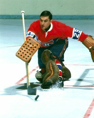 Rogatien Vachon Montreal Canadiens 8x10 Photo