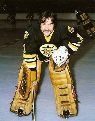 Rogatien Vachon Boston Bruins 8x10 Photo