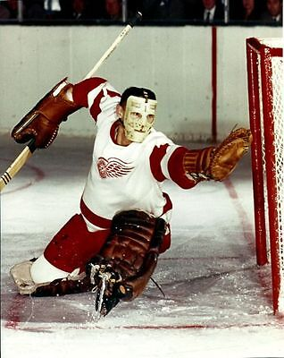 Terry Sawchuk Detroit Red Wings Unsigned 8x10 Photo