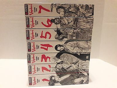 VagaBond Volumes 1 - 7 Graphic Novel VizBig Edition EXCELLENT Condition