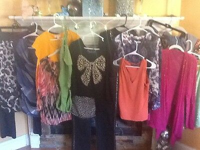 Women's HUGE lot L, XL, 16 And 18 Clothing INC, Chico's And More