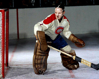 Jaques Plante Montreal Canadiens Unsigned 8x10 Photo