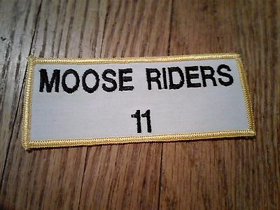 """""""Moose Riders 11"""" Patch"""