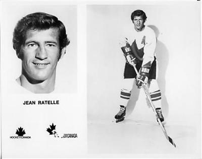 Jean Ratelle team Canada 1972 8x10 Photo